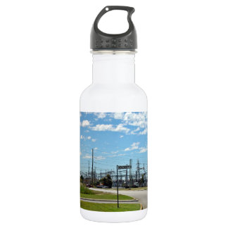 Electricity relay station 18oz water bottle