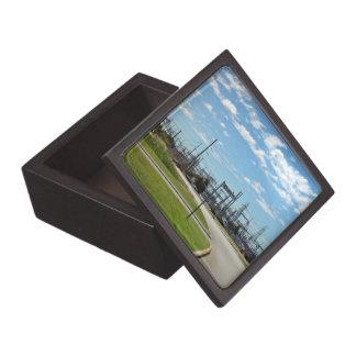 Electricity relay station premium jewelry box