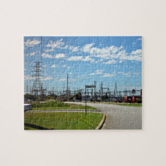 Electricity relay station puzzles