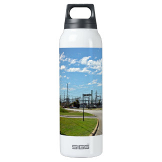 Electricity relay station 16 oz insulated SIGG thermos water bottle