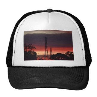ELECTRICITY TOERS & PINK SUNSET RURAL AUSTRALIA TRUCKER HAT