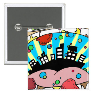 Electricityscape - CityMouth Pin