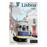 Eléctrico, Lisboa Tarjetas Postales