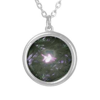 Electricpixie Round Pendant Necklace