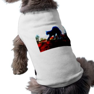 Electrified Cat petshirt