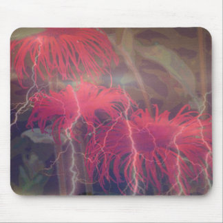 Electrified Daisies Mouse Mat