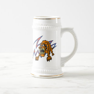 Electrified Dog Beer Stein