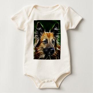 Electrified German Shepherd Baby Bodysuit