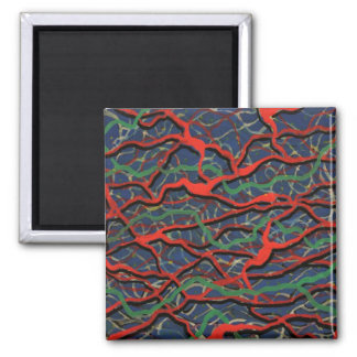 Electrified Gift Products Line 2 Inch Square Magnet