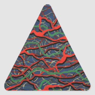 Electrified Gift Products Line Triangle Sticker