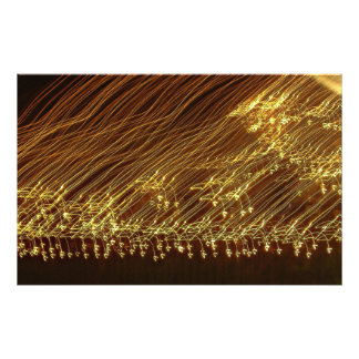Electrified print photograph
