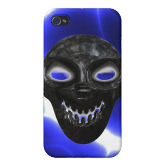 Electrified Skull iPhone4 Case iPhone 4 Case