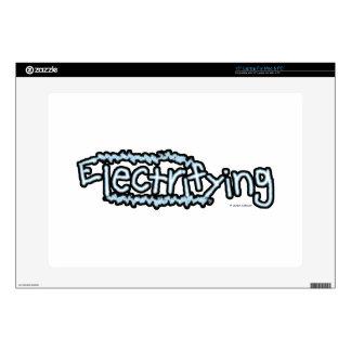 """Electrifying (2) 15"""" laptop skin"""