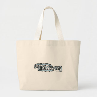 Electrifying (2) large tote bag