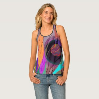 Electrifying Abstract TankTee Tank Top