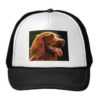 Electrifying Dog Portrait Hat