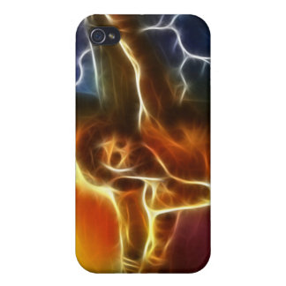 Electrifying Jesus Crucifixion iPhone 4/4S Covers
