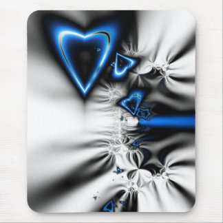 Electrifying Love Mouse Pad
