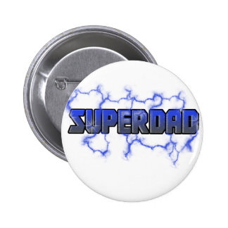 Electrifying Superdad Button