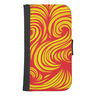 Electrifying Up Fearless Composed Galaxy S4 Wallet Case