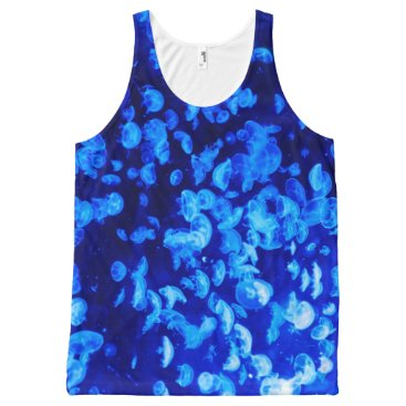 Beach Themed Electro All-Over-Print Tank Top