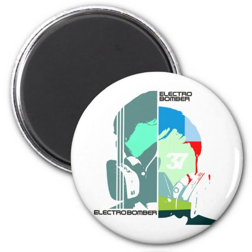 electro bomber 2 inch round magnet