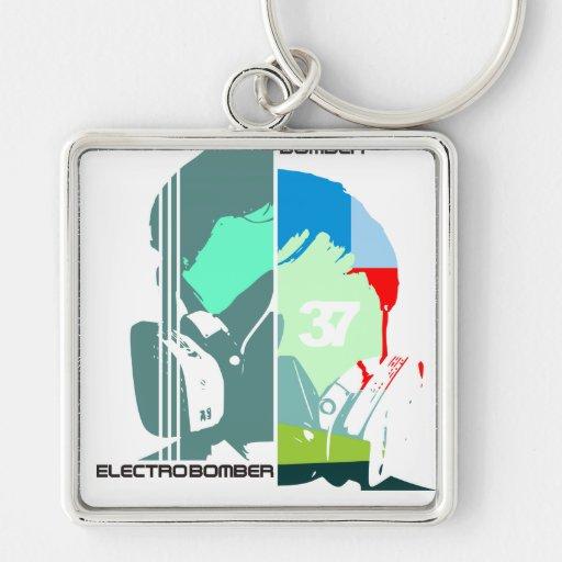 electro bomber key chains