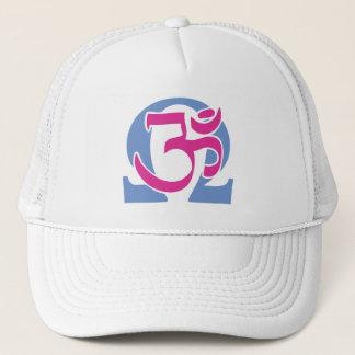 Electro Buddhist Om Symbol Cap