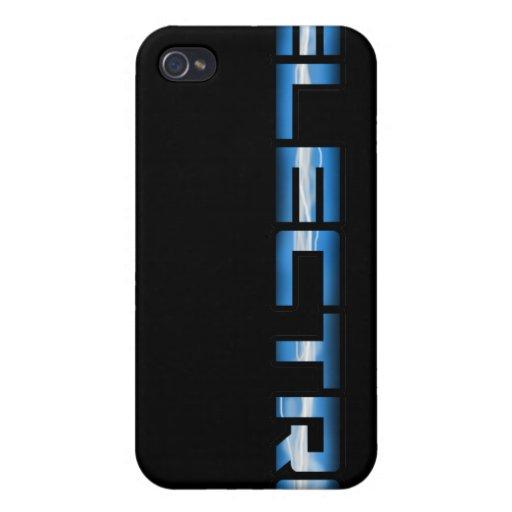 Electro caso del iphone iPhone 4 carcasa