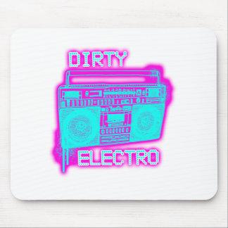 ELECTRO chicas SUCIOS de DJ del club de baile indi Tapetes De Ratón