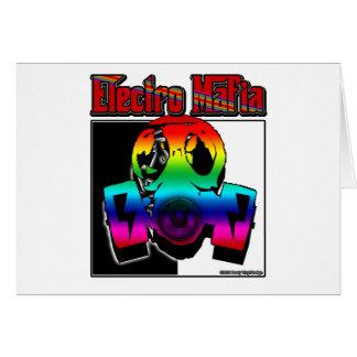 ELECTRO DJ music song mix ELECTRO Card