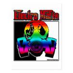 ELECTRO DJ music song mix ELECTRO Postcard