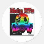 ELECTRO DJ music song mix ELECTRO Sticker