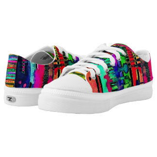 electro dripping wave lowtop lace ups Low-Top sneakers