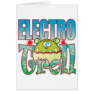 Electro duende tarjeta de felicitación