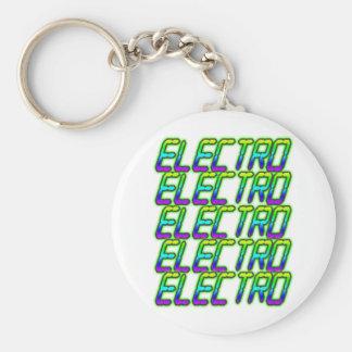 ELECTRO Electro Electro Music DJ Key Chains