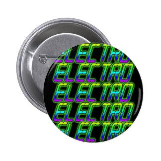 ELECTRO Electro Electro Music DJ Pinback Button