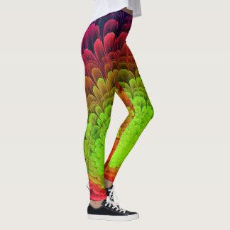 electro feather leggings