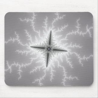 Electro - Fractal Art Mouse Pad