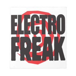 Electro Freak Notepad