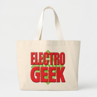 Electro friki v2 bolsa lienzo