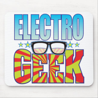 Electro Geek v4 Mouse Pad