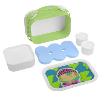 Electro Girl Yubo Lunch Box