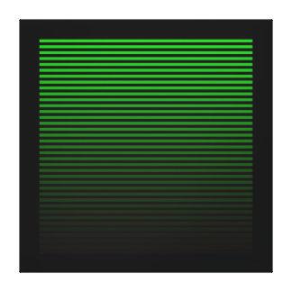 Electro Green Wall Canvas Canvas Print