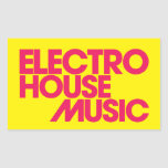 Electro House Music Stickers