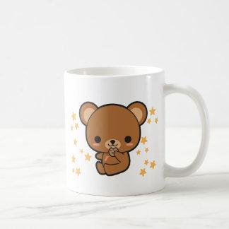 Electro oso de Kawaii Tazas De Café