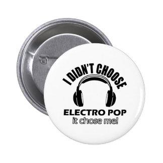 electro pop designs button