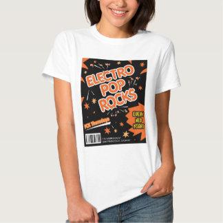 Electro Pop Rocks Candy Orange T-Shirt