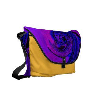 electro spiral 2 Rickshaw Messenger bag Courier Bag