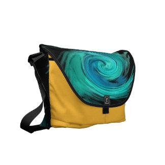 electro spiral 4 Rickshaw Messenger bag Messenger Bag